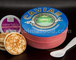 Siberian Osetra Baerii Caviar Gift Set